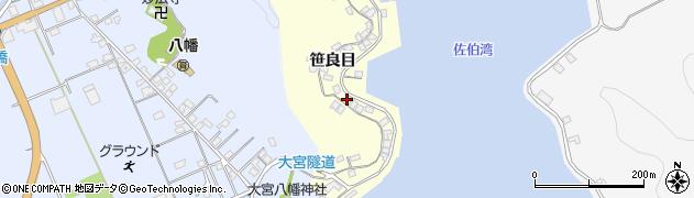 大分県佐伯市霞ケ浦184周辺の地図