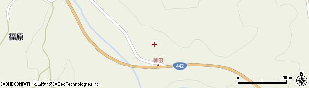 大分県竹田市福原710周辺の地図
