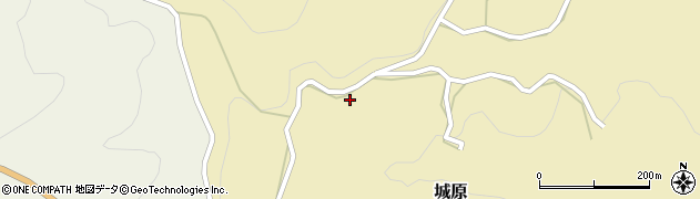 大分県竹田市城原715周辺の地図
