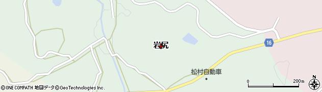 熊本県和水町(玉名郡)岩尻周辺の地図