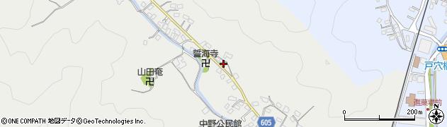 大分県佐伯市海崎3254周辺の地図