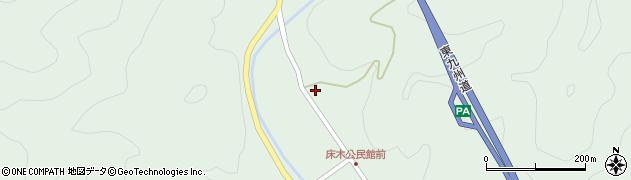 大分県佐伯市弥生大字床木1370周辺の地図