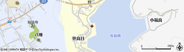 大分県佐伯市霞ケ浦842周辺の地図