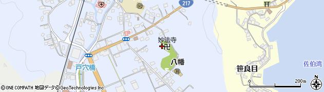 大分県佐伯市戸穴219周辺の地図
