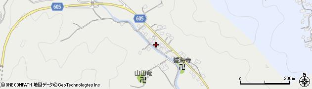 大分県佐伯市海崎3219周辺の地図