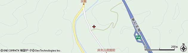 大分県佐伯市弥生大字床木1365周辺の地図