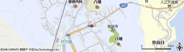 大分県佐伯市戸穴周辺の地図
