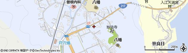 大分県佐伯市戸穴194周辺の地図