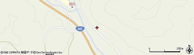 大分県竹田市福原651周辺の地図
