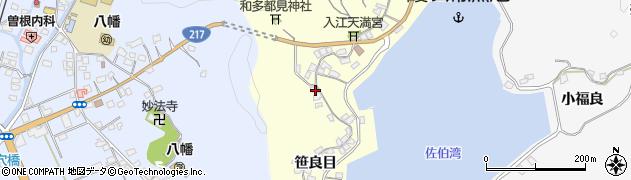 大分県佐伯市霞ケ浦257周辺の地図