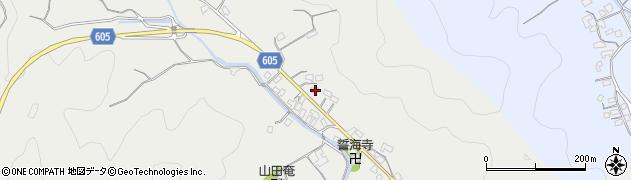 大分県佐伯市海崎3205周辺の地図