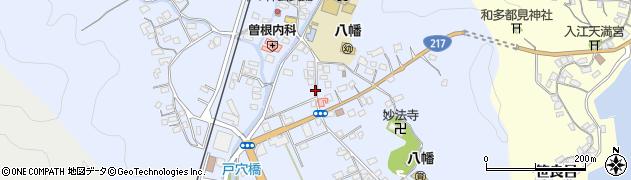 大分県佐伯市戸穴143周辺の地図