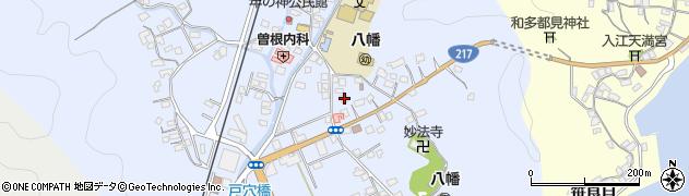 大分県佐伯市戸穴188周辺の地図