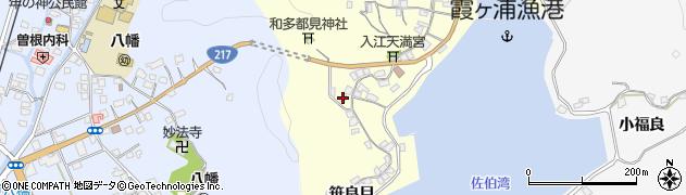 大分県佐伯市霞ケ浦261周辺の地図