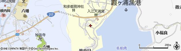 大分県佐伯市霞ケ浦277周辺の地図