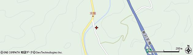 大分県佐伯市弥生大字床木1359周辺の地図