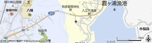 大分県佐伯市霞ケ浦31周辺の地図