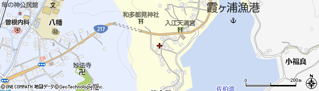 大分県佐伯市霞ケ浦278周辺の地図