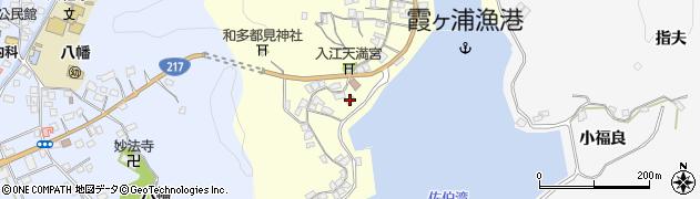 大分県佐伯市霞ケ浦298周辺の地図