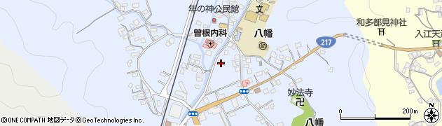 大分県佐伯市戸穴455周辺の地図