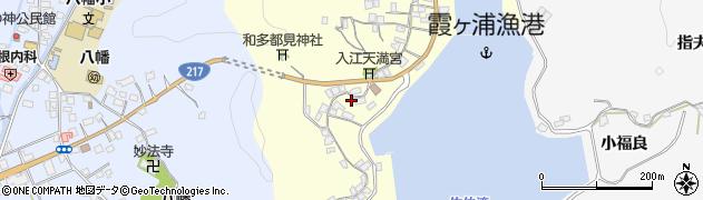 大分県佐伯市霞ケ浦288周辺の地図