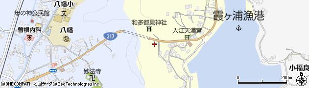 大分県佐伯市霞ケ浦55周辺の地図