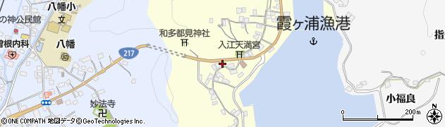 大分県佐伯市霞ケ浦291周辺の地図