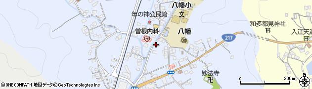 大分県佐伯市戸穴453周辺の地図