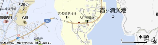 大分県佐伯市霞ケ浦167周辺の地図