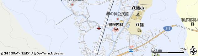 大分県佐伯市戸穴746周辺の地図