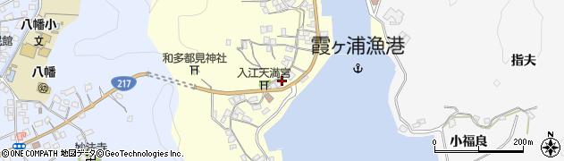 大分県佐伯市霞ケ浦307周辺の地図