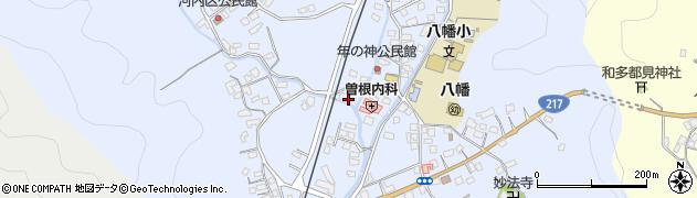 大分県佐伯市戸穴1513周辺の地図