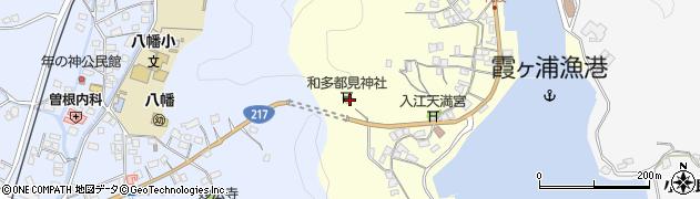 大分県佐伯市霞ケ浦33周辺の地図