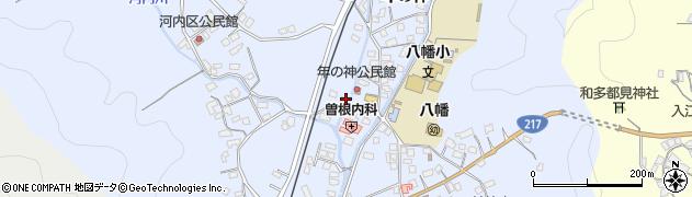 大分県佐伯市戸穴1510周辺の地図