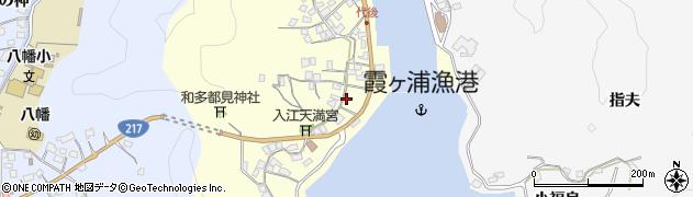大分県佐伯市霞ケ浦361周辺の地図