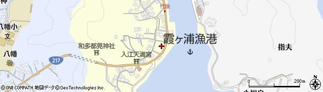 大分県佐伯市霞ケ浦322周辺の地図