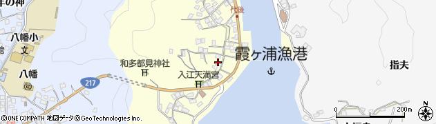大分県佐伯市霞ケ浦423周辺の地図