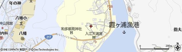 大分県佐伯市霞ケ浦396周辺の地図