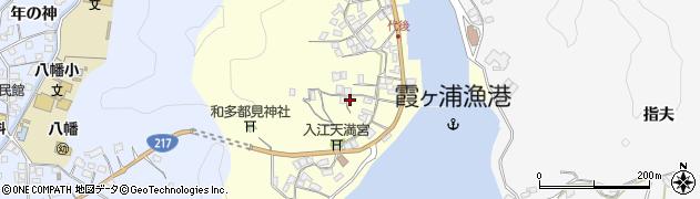 大分県佐伯市霞ケ浦407周辺の地図
