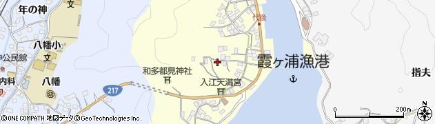 大分県佐伯市霞ケ浦397周辺の地図
