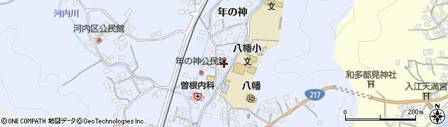 大分県佐伯市戸穴1532周辺の地図