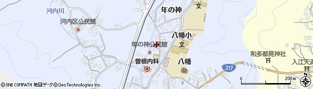 大分県佐伯市戸穴1536周辺の地図