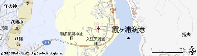大分県佐伯市霞ケ浦363周辺の地図