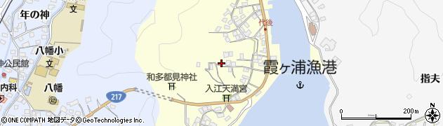 大分県佐伯市霞ケ浦374周辺の地図