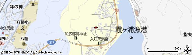 大分県佐伯市霞ケ浦375周辺の地図