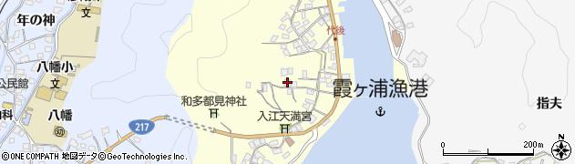 大分県佐伯市霞ケ浦364周辺の地図