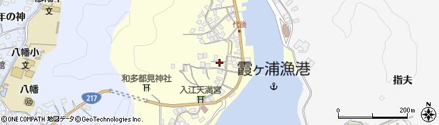 大分県佐伯市霞ケ浦359周辺の地図