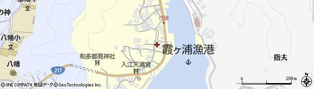 大分県佐伯市霞ケ浦331周辺の地図