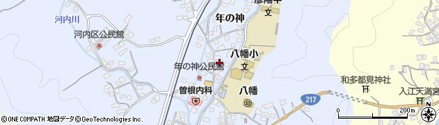 大分県佐伯市戸穴1535周辺の地図