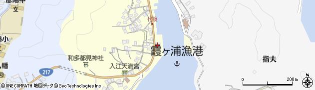 大分県佐伯市霞ケ浦881周辺の地図